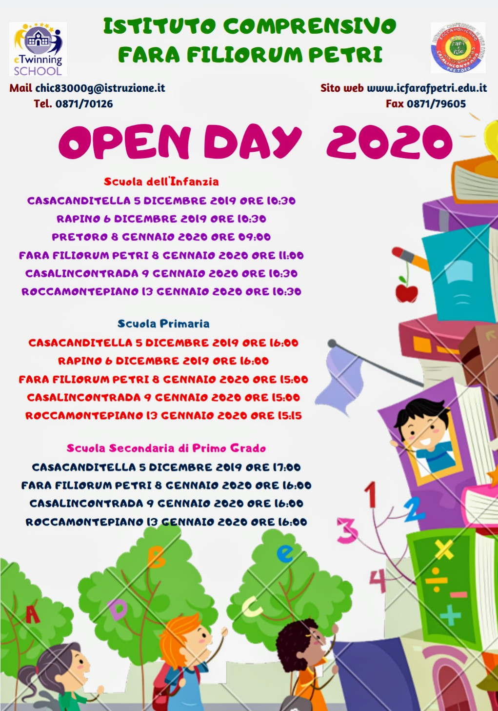 OPEN DAY 2020!