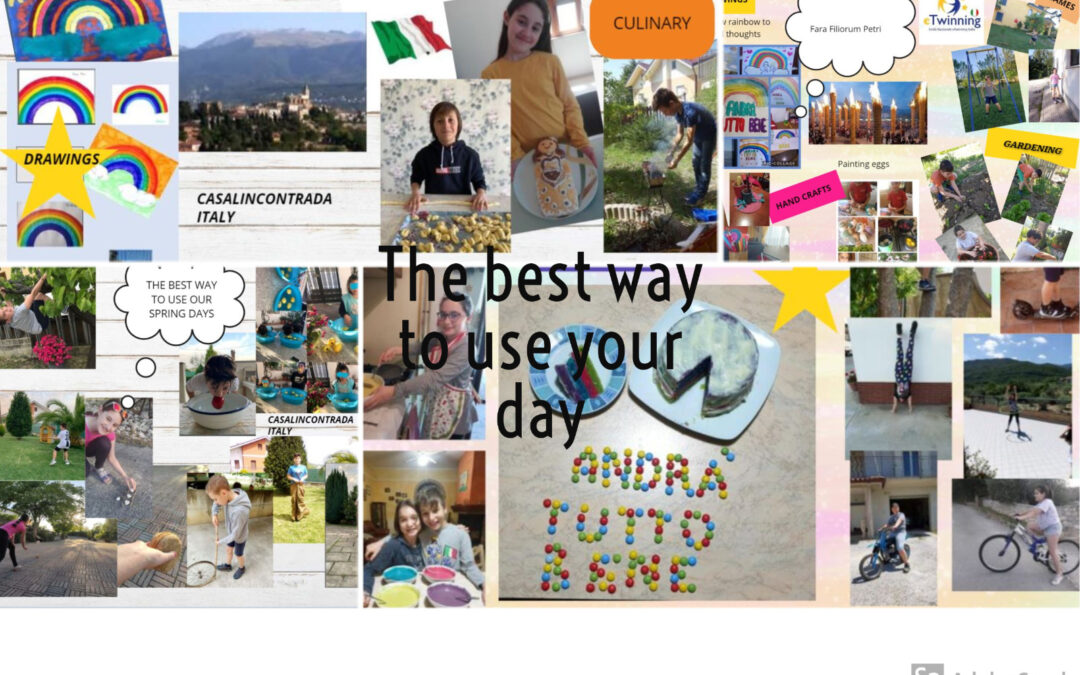 """The best way to use your day"" Un progetto eTwinning."