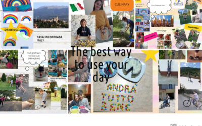 """""""The best way to use your day"""" Un progetto eTwinning."""