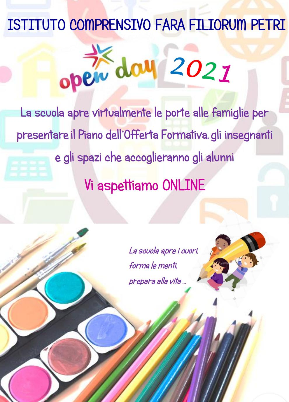 OPEN DAY 2021 IC FARA FILIORUM PETRI