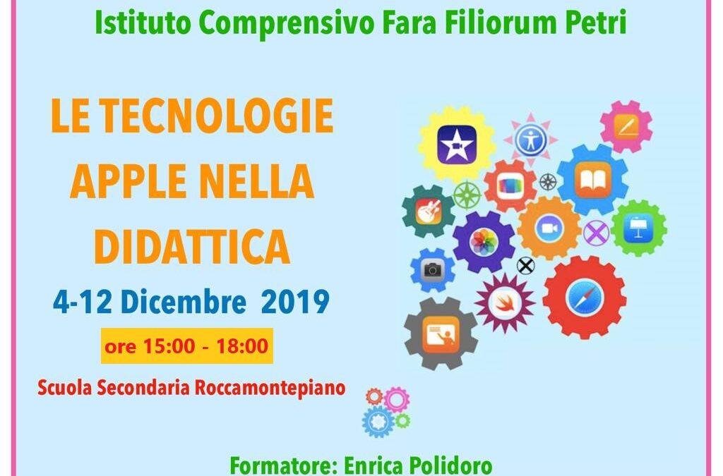 Formazione Apple 4 e 12 dicembre 2019